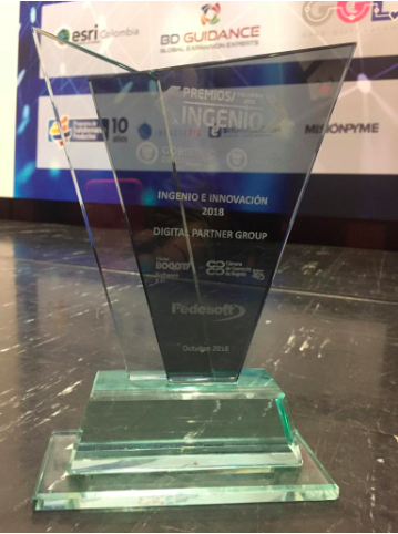 Premio al mayor INGENIO tecnológico para Colombia en Software